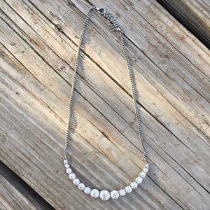 LAST PRICE- NEW Rhinestone statement necklace